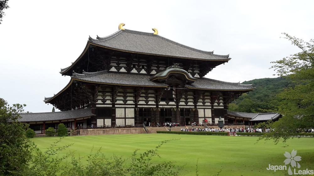 Foto des Todai Tempels.