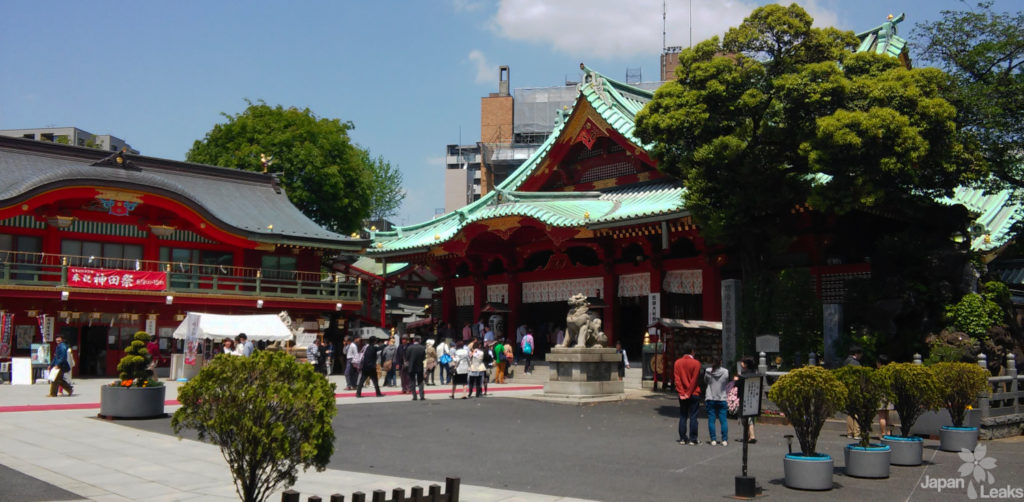 Der Kanda Schrein in Akihabara.