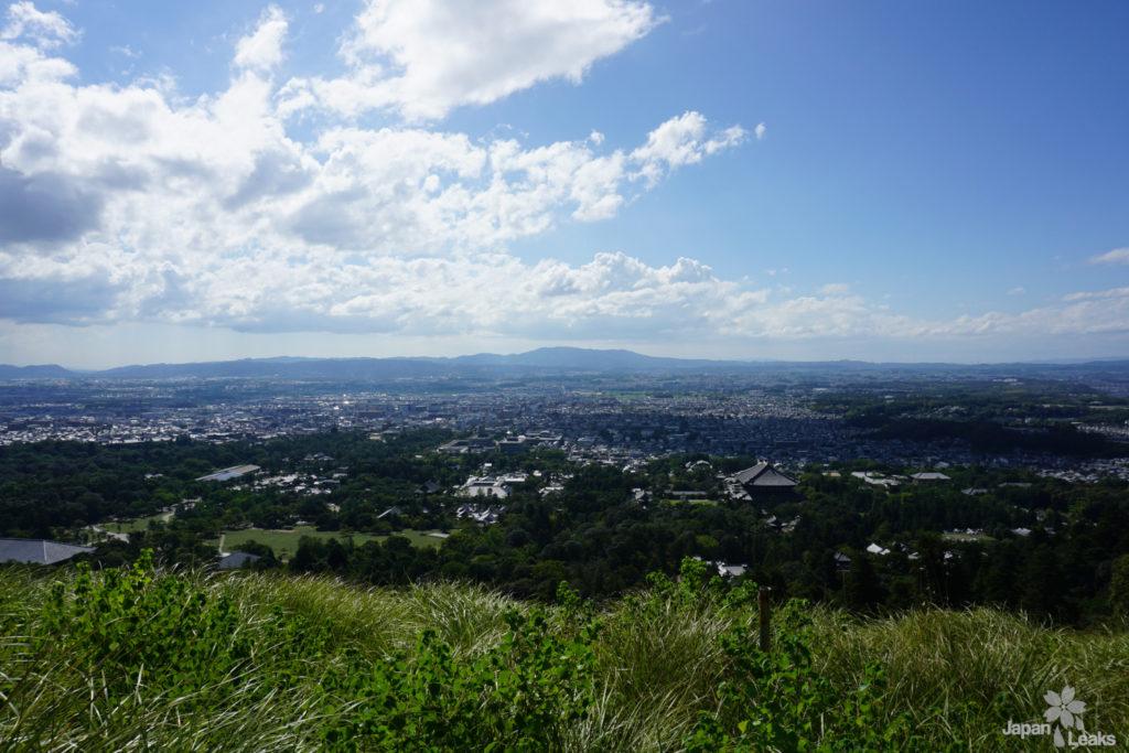 Blick auf Nara vom Wakakusa