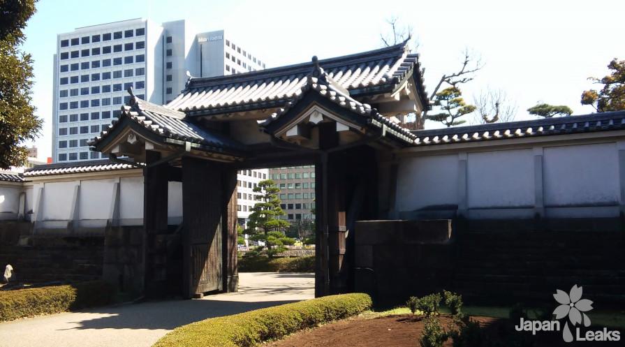 Ein Tor des Kaiserpalasts in Chiyoda-ku.