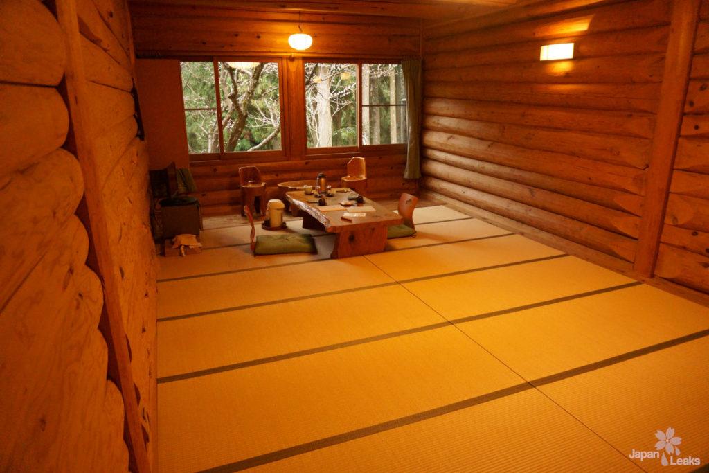 Unser Zimmer im Ryokan Kato in Yoshinoyama.