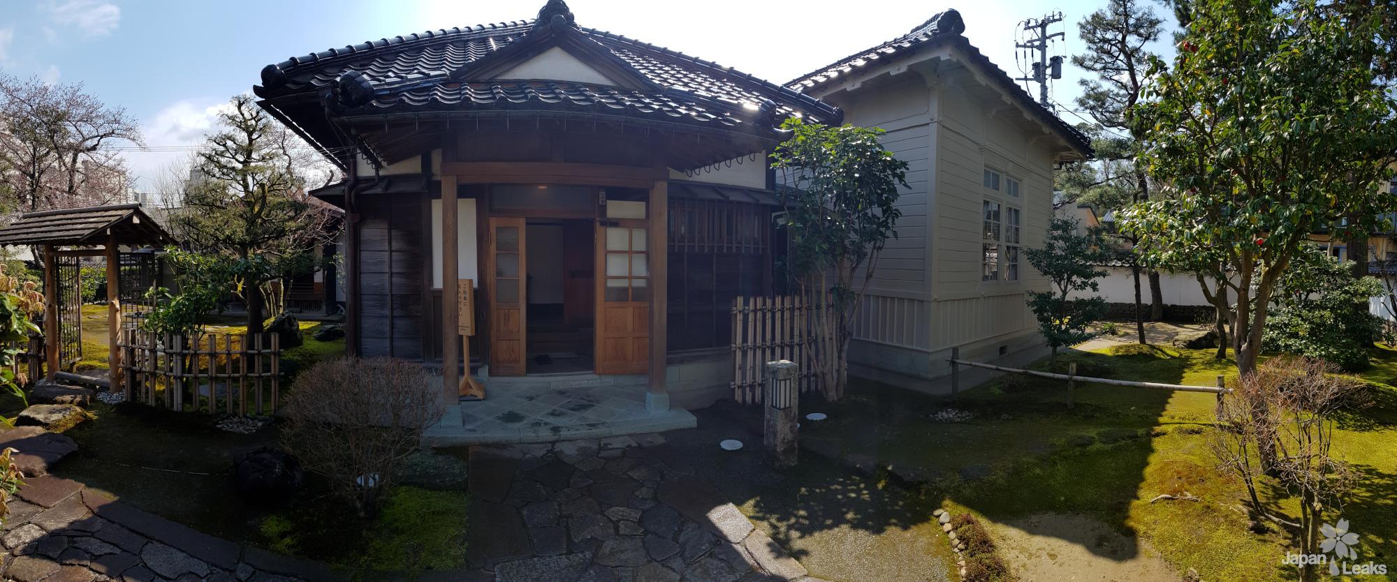 Ein traditionelles Wohnhaus in Kanazawa.