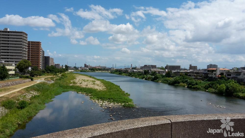 Fluss in Takarazuka