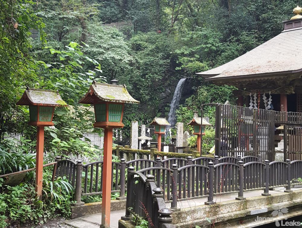 Der Jebi Wasserfall auf Route 6