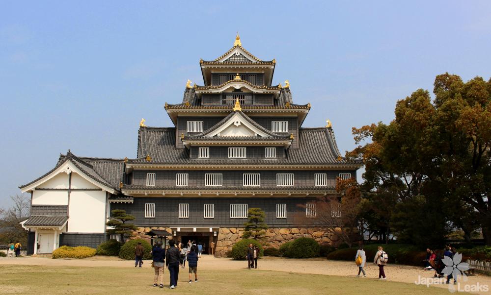 Foto der Burg Okayama