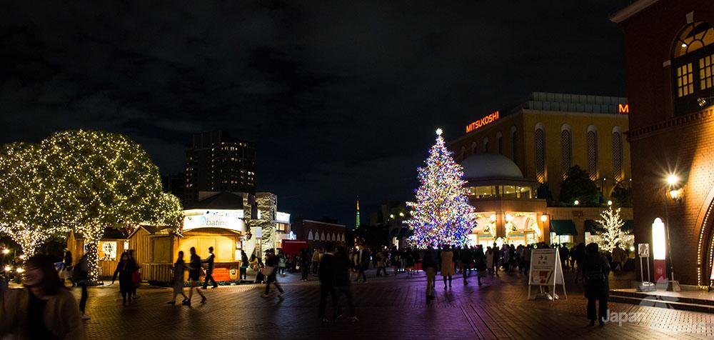 Weihnachtsbaum Ebisu