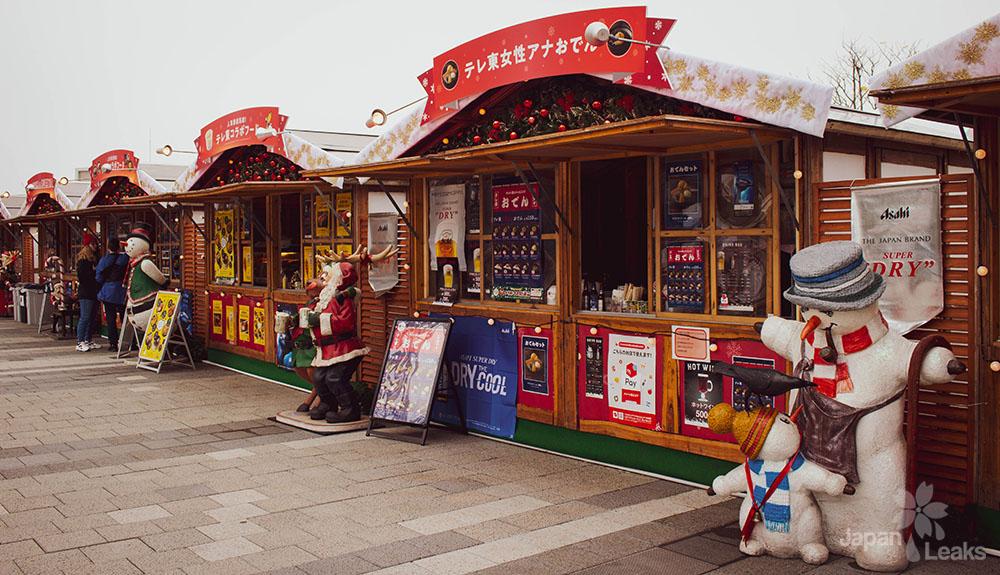 Foto Weihnachtsmarkt Skytree