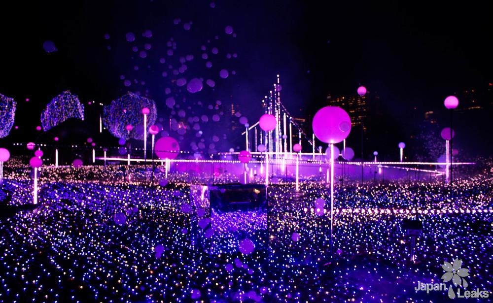 Tokyo Midtown Lightshow