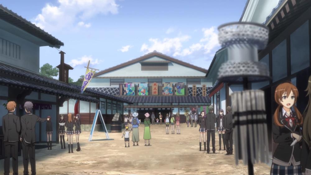 Screenshot aus dem Anime My Teen Romantic Comedy SNAFU