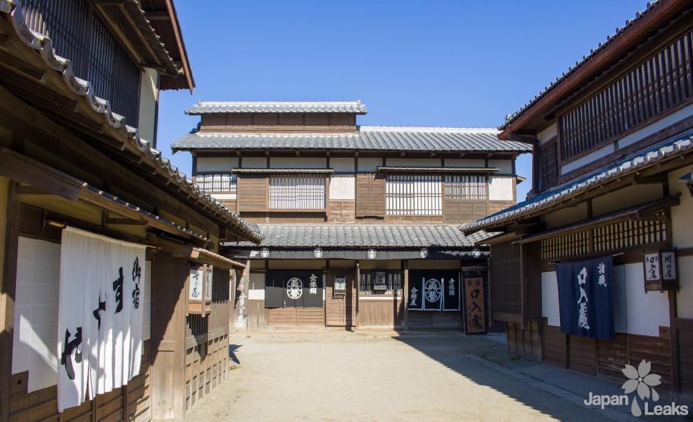 Nachbauten historischer japanischer Häuser im Eigamura