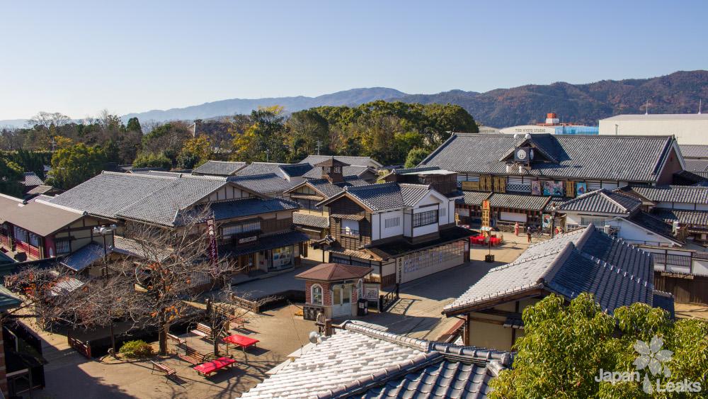 Blick von Oben auf das Eigamura in den Toei Studios