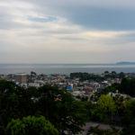 Aussicht von der Burg Odawara
