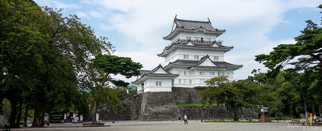 Foto der Burg Odawara.