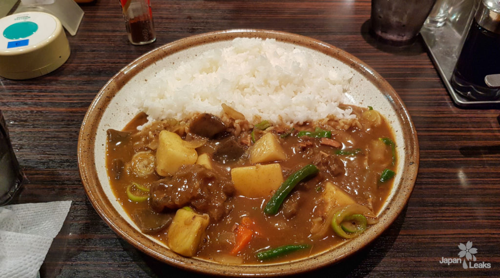 Foto von japanischem Curry