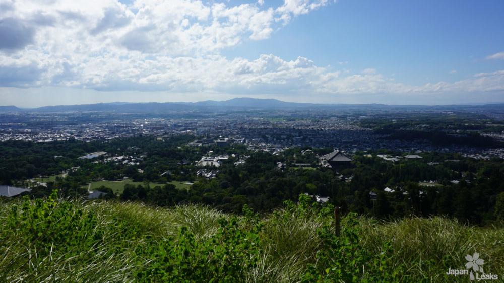 Foto vom Berg Wakakusa in Nar